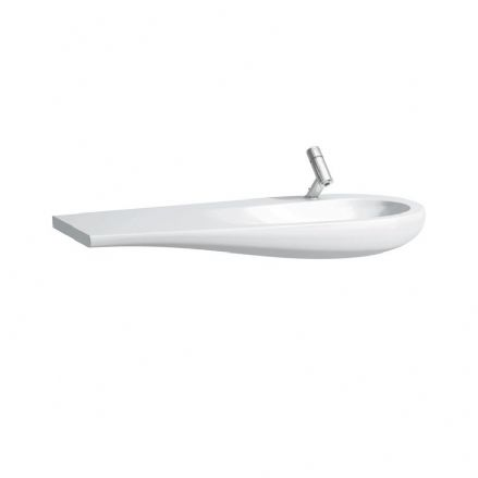 814974 - Laufen Alessi One 1200mm x 500mm Washbasin (Left Shelf) - 8.1497.4